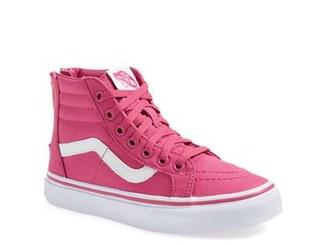 Infant Girl's Vans 'Sk8-Hi' Zip Sneaker $39.95 thestylecure.com