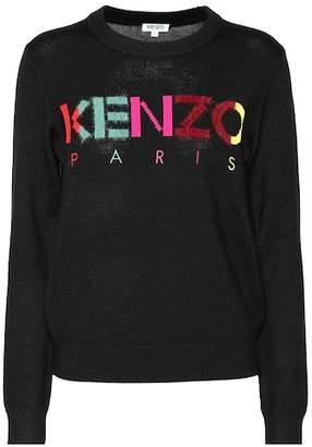 Kenzo Logo wool-blend sweater