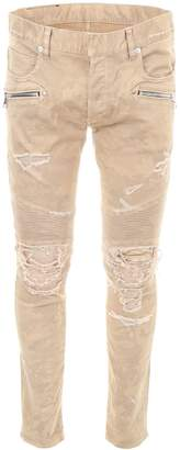 Balmain Camouflage Trousers With Vintage Effect