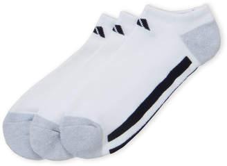 adidas 3-Pack Cushioned No-Show Socks