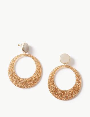 Marks and Spencer Glitter Drop Earrings