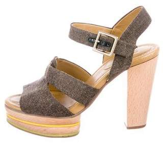 See by Chloe Platform Ankle Strap Sandals