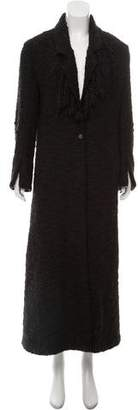 Fendi Long Wool Coat