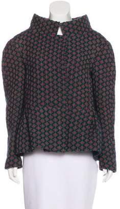 Marni Wool Peplum Jacket