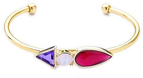 Goldtone Adjustable Cuff Bracelet