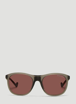 District Vision Nako Tinted Sunglasses in Grey