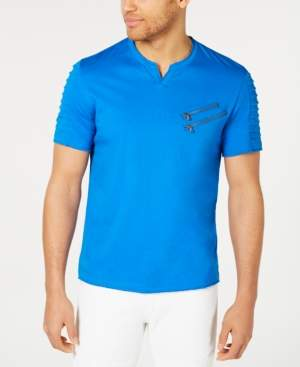 INC International Concepts Inc Men's Zippered T-Shirt, Created for Macy's