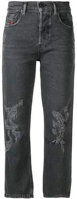 Diesel cropped slim fit jeans