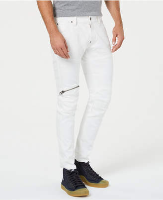 G Star Men 5620 Elwood 3D Zip Knee Skinny Jeans