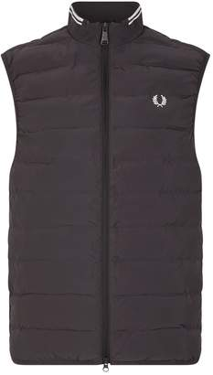 Fred Perry Quilted Logo Gilet