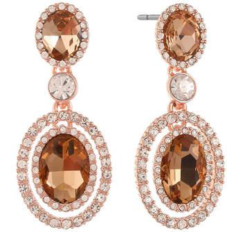 MONET JEWELRY Monet Jewelry Orange Drop Earrings