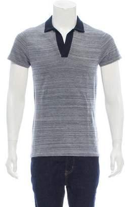 Orlebar Brown Short Sleeve Pique Polo