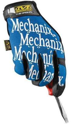 Mechanix Wear X-Large Black And Blue The Original Full Finger Synthetic Leather Mechanics Gloves With Hook And Loop Cuff, Spandex Back, Synthetic Leather Palm And Fingertips And Reinforced Thum
