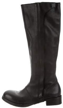 Alexandre Plokhov Tall Leather Boots