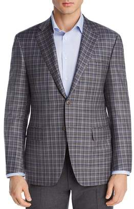 Canali Plaid Siena Regular Fit Sport Coat