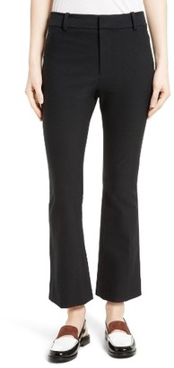 Women's Derek Lam 10 Crosby Crop Flare Trousers $325 thestylecure.com
