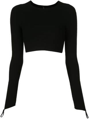 Adam Selman cropped top