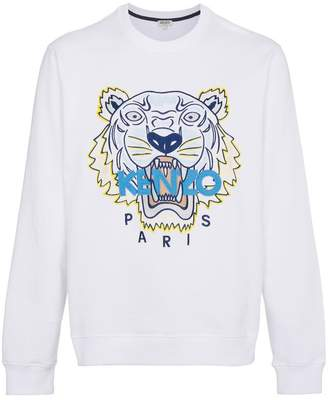 Kenzo tiger and logo sweater