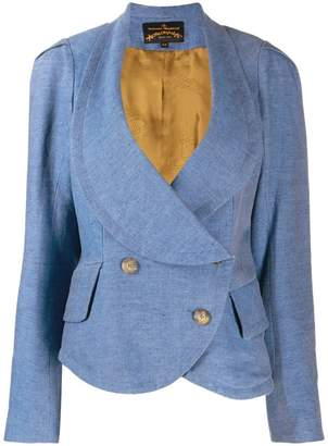 Vivienne Westwood PRE-OWNED double-breasted peplum jacket