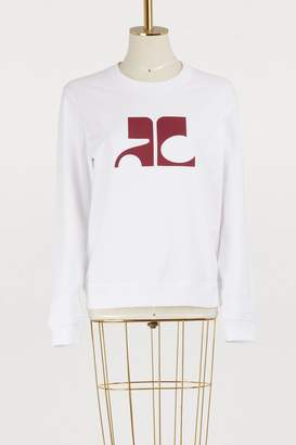Courreges Logo sweatshirt