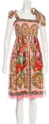 Dolce & Gabbana Sicilian Silk Dress