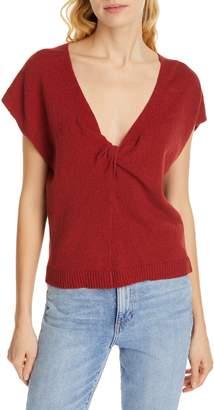 Joie Alenah Twist V-Neck Sweater