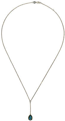 Saks Fifth Avenue 14K Yellow Gold Pear Shaped Drop Necklace