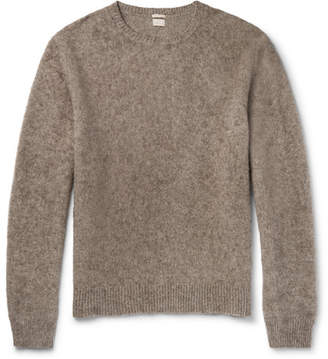 Massimo Alba J.pierre Brushed-yak Sweater
