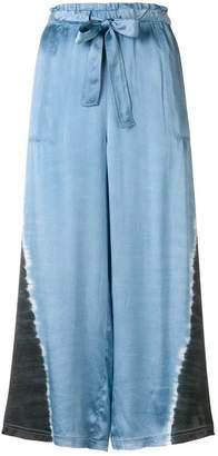 Raquel Allegra cropped pyjama trousers