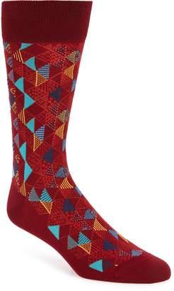 Bugatchi Geometric Socks
