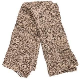 Sonia Rykiel Knit Bi-Color Scarf