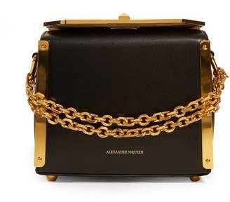 Alexander McQueen Box Bag 19 leather shoulder bag