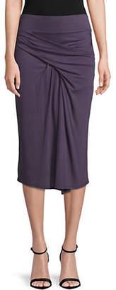 Helmut Lang Entity Jersey Skirt
