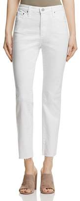 AG Jeans Isabelle Straight Jeans in 1 Year White