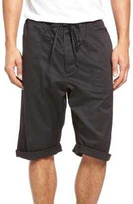 Men's Vince Stretch Woven Drawstring Shorts $185 thestylecure.com