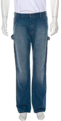 CNC Costume National Straight-Leg Painters Jeans