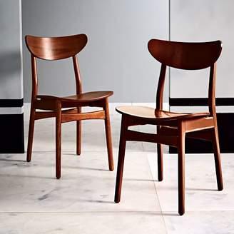 west elm Classic Café Walnut Dining Chair