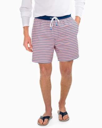 Southern Tide Freedom Rocks Striped Swim Trunk