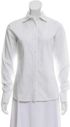 Loro Piana Striped Button-Up Tops