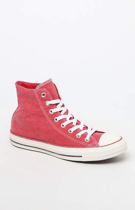 Converse Red Vintage All Star Low Top Sneakers