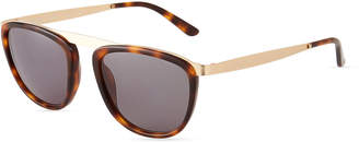 Smoke X Mirrors Pusherman Acetate/Stainless Steel Square Sunglasses