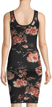 Ali & Jay Dreaming Big Floral Sleeveless Sweaterdress