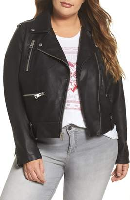 Levi's Lamb Touch Faux Leather Moto Jacket