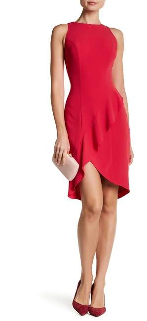 bebe Ruffle Detail Dress