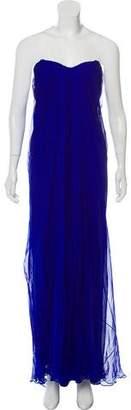 Alexander McQueen Silk Evening Dress w/ Tags