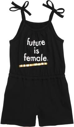TINY TRIBE Future is Female Graphic Romper