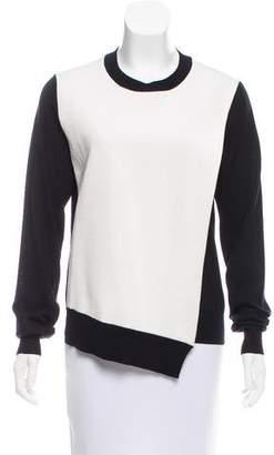 Celine Draped Wool Sweater