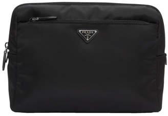 525bf384863a Prada Black Nylon Cosmetic Pouch