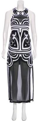 Alice McCall Embroidered Maxi Dress w/ Tags