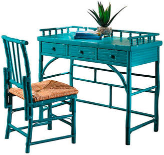 One Kings Lane Eastbrook Desk and Chair Set - Turquoise